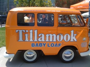 Tillamook's Cheese Wagon at the Grilled Cheese Invitational Los Angeles, C