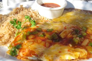 Huevos Rancheros at Tammie's Cornerhouse Cafe