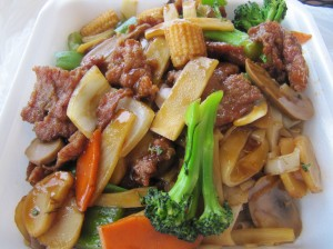 Beef Chow Fun at Express Chinese Food El Segundo, CA